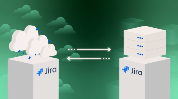 jira cloud to server