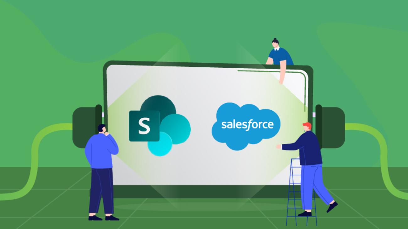 Sharepoint salesforce integration