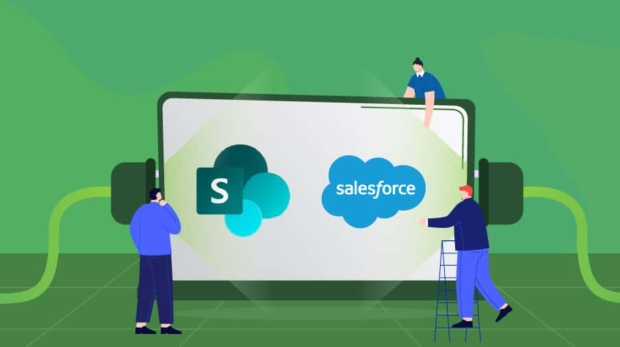 Sharepoint salesforce integration