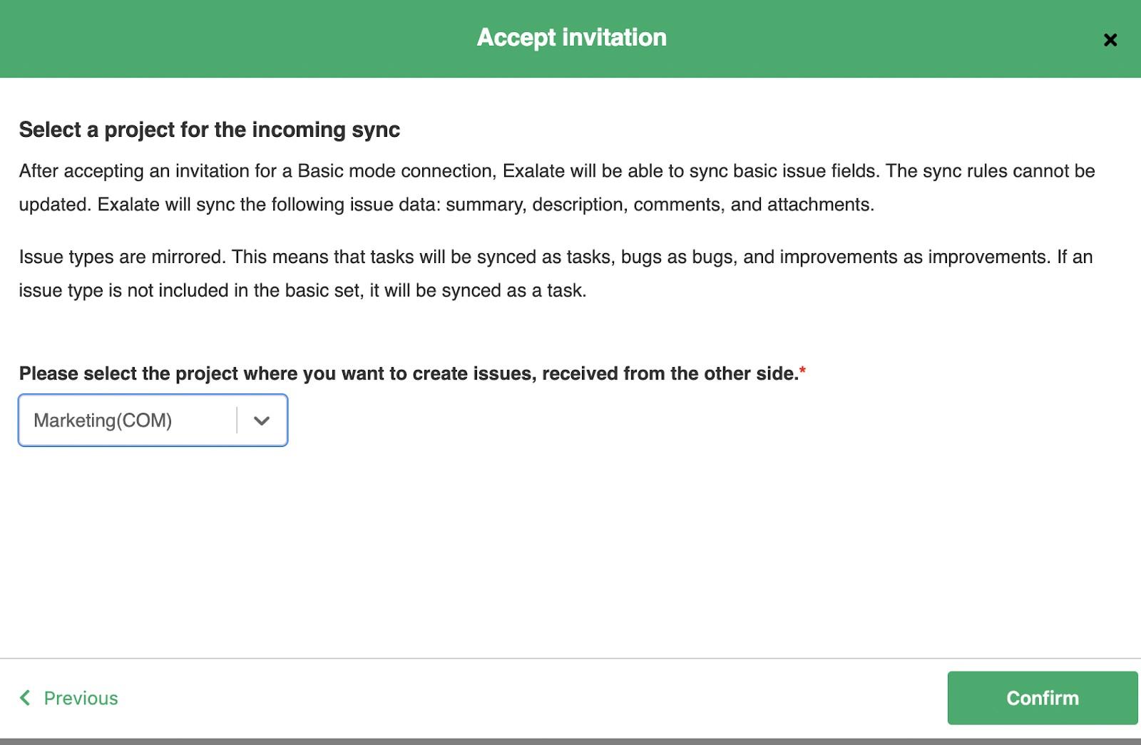 accept jira zendesk sync invitation