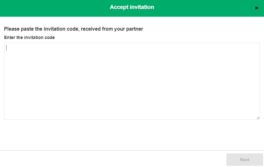 accept invitation exalate
