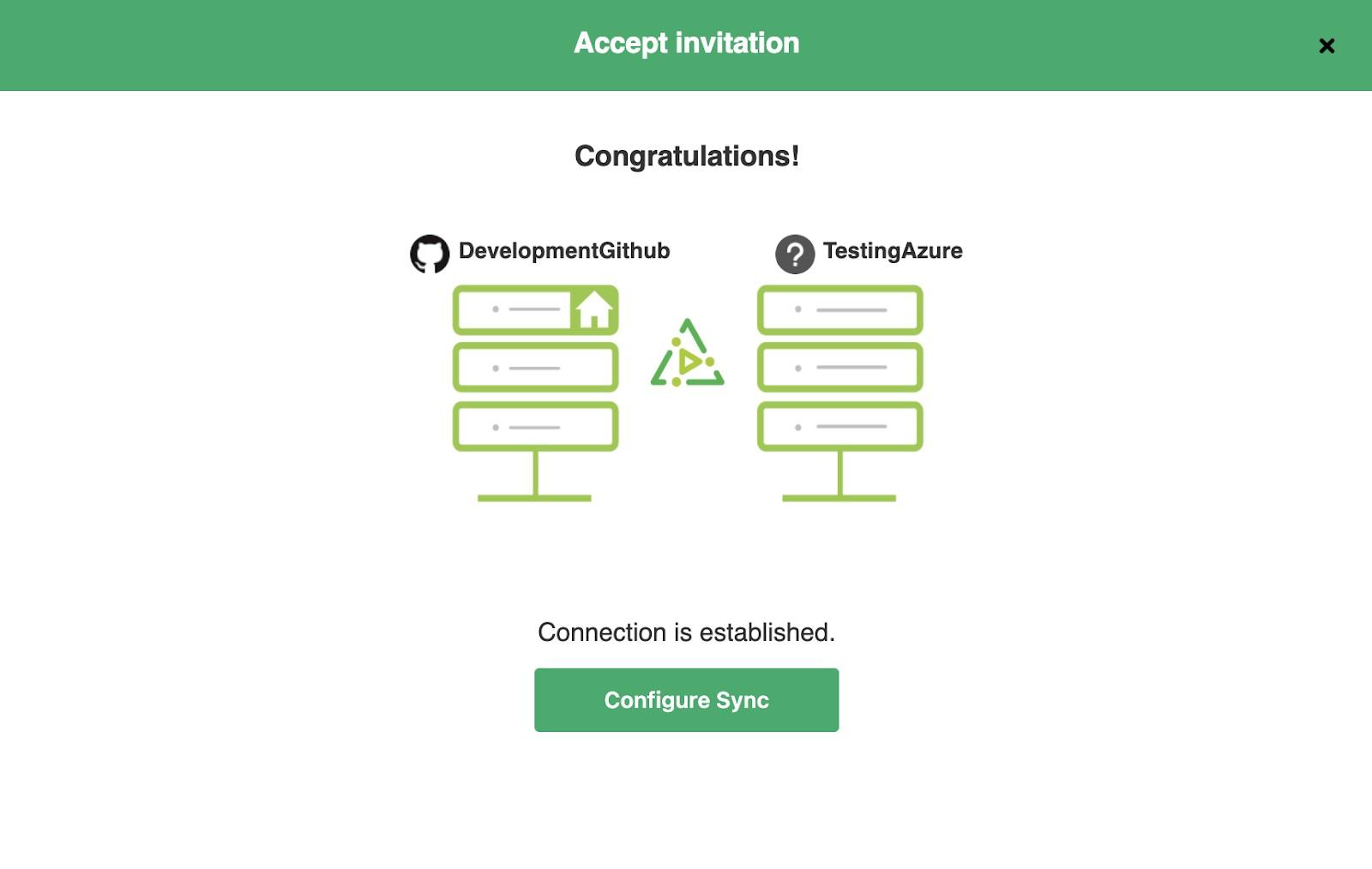 configure azure devops GitHub sync