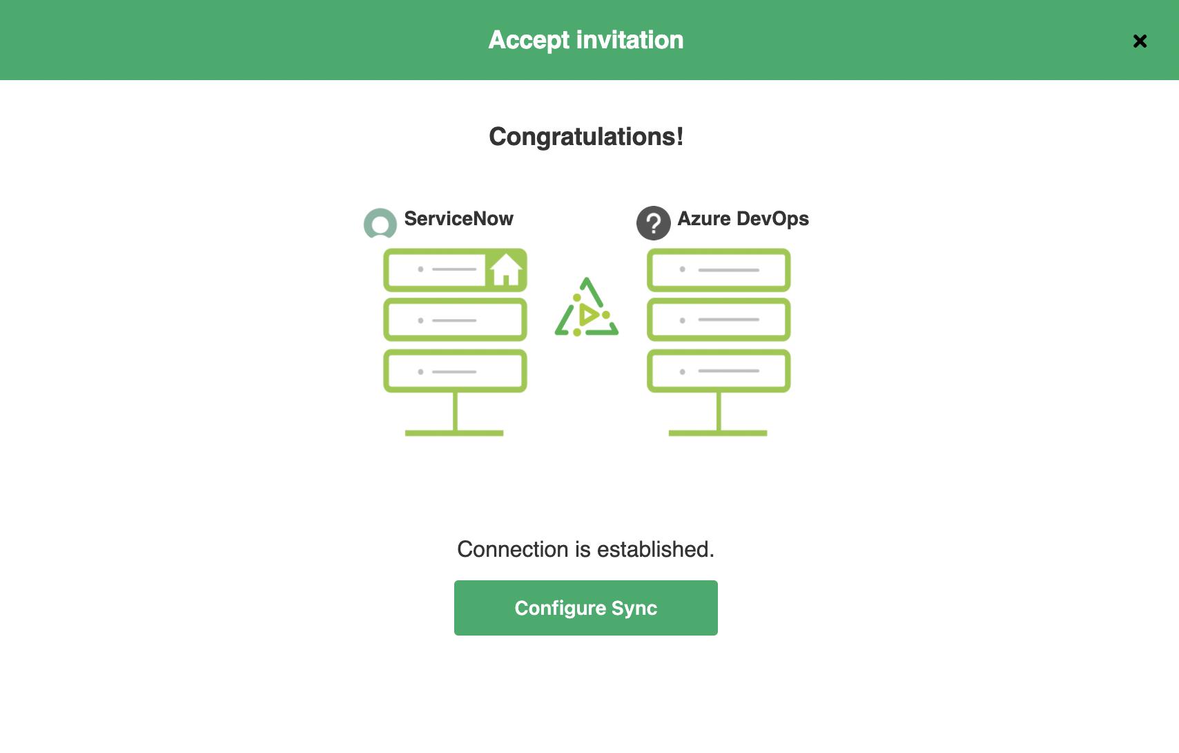 Integration between Azure DevOps and ServiceNow